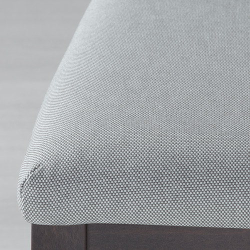 EKEDALEN/EKEDALEN stalas, 2 kėdės, suolas