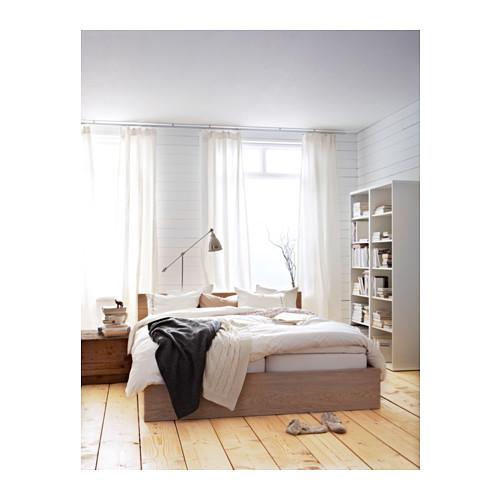 MALM aukštas lovos rėmas