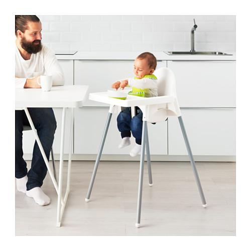 ANTILOP vaik. aukšta kėd. su padėklu