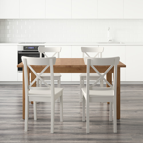 INGOLF/STORNÄS table and 4 chairs