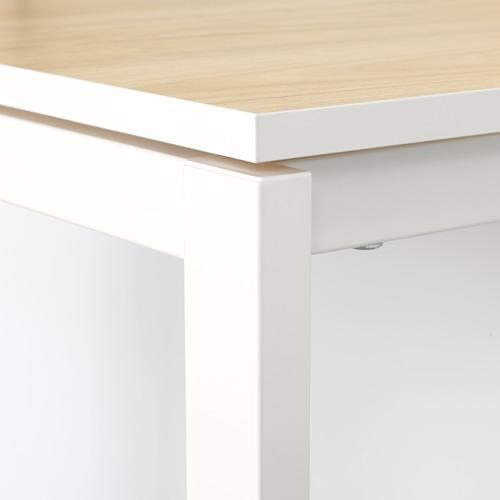 MELLTORP/TEODORES galds un 4 krēsli