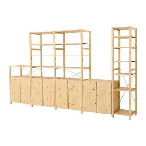 IVAR 5 rėmai/lentynos/spintelės