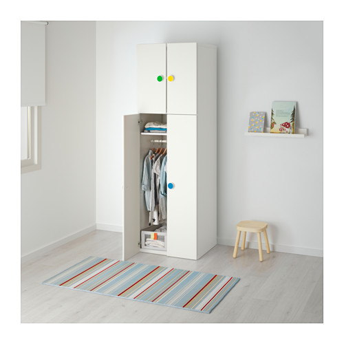 STUVA/FÖLJA skapis ar 4 durvīm