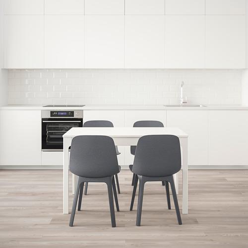 EKEDALEN/ODGER stalas ir 4 kėdės