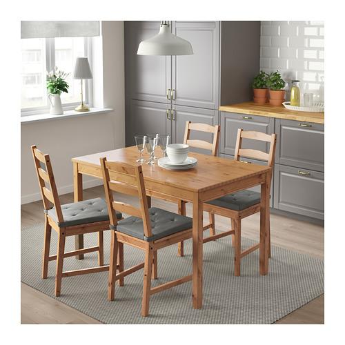 JOKKMOKK galds un 4 krēsli