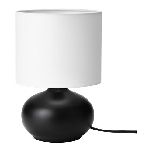 TVÄRFOT galda lampa