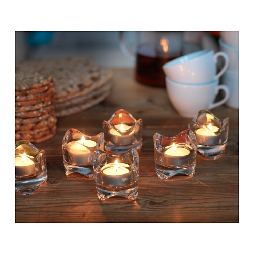 GLIMMA unscented tealight