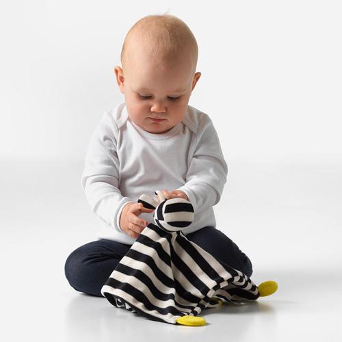 KLAPPA sedziņa ar mīksto rotaļlietu
