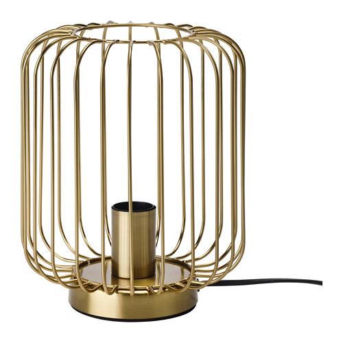 FLAGGSKEPP galda lampa