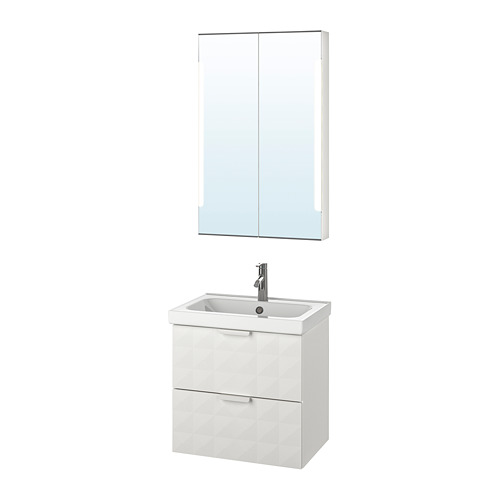 ODENSVIK/GODMORGON vannasistabas mēbeles, 4vien.
