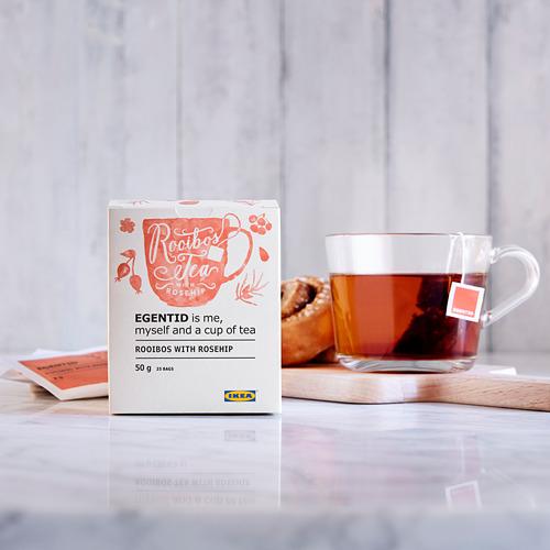 EGENTID raudonoji arbata
