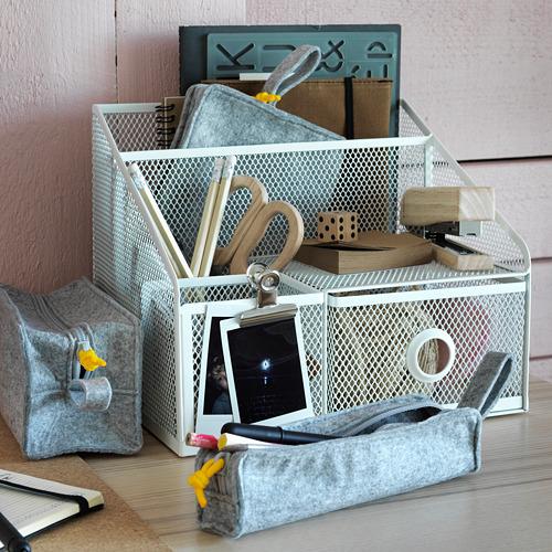 KNALLBÅGE accessory bag, set of 3