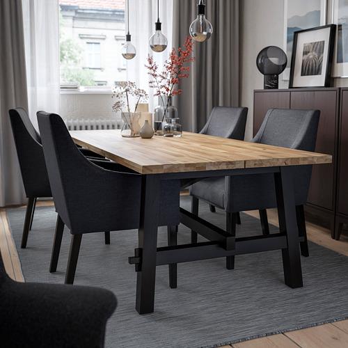 SAKARIAS/SKOGSTA galds un 4 krēsli