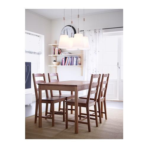 JOKKMOKK stalas ir 4 kėdės