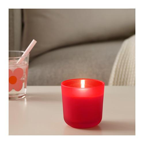 SOMMAR 2019 aromatizētā svece stikla traukā