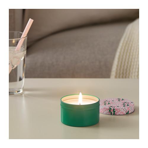 SOMMAR 2019 smaržīgā svece metāla traukā