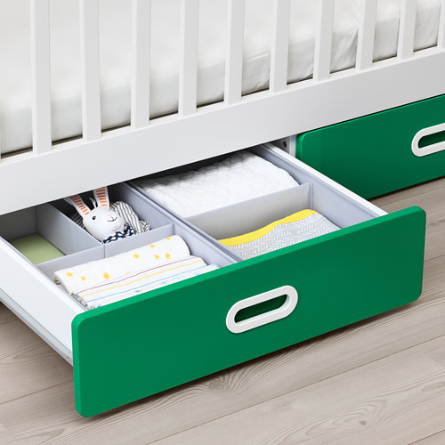 FRITIDS/STUVA bērnu gultiņa ar atvilktnēm