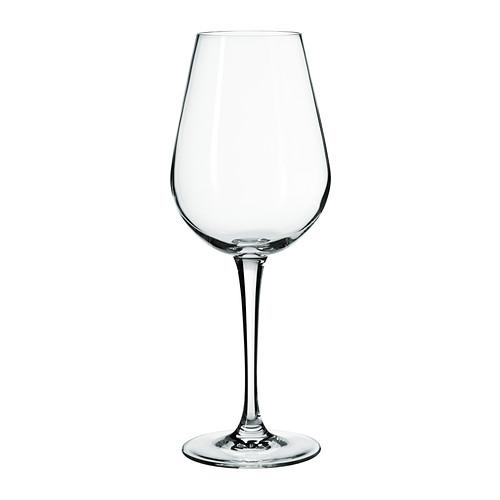 HEDERLIG baltojo vyno taurė