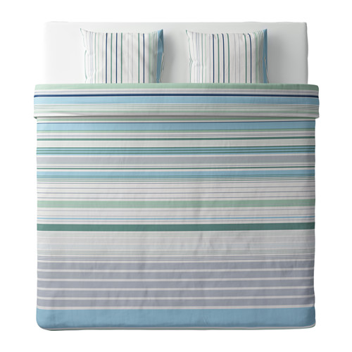 BLÅRIPS antklodės užv. ir 2 pagalv. užv.