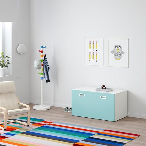 FRITIDS/STUVA sols ar rotaļlietu glabātavu