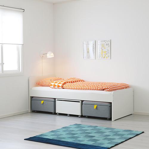 SLÄKT gultas rāmis ar redelēm