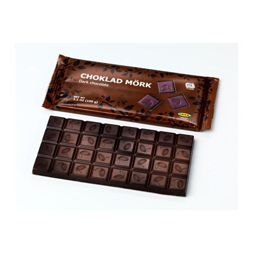 CHOKLAD MÖRK шоколад горький