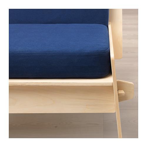 ÖVERALLT atpūtas krēsls ar spilveniem