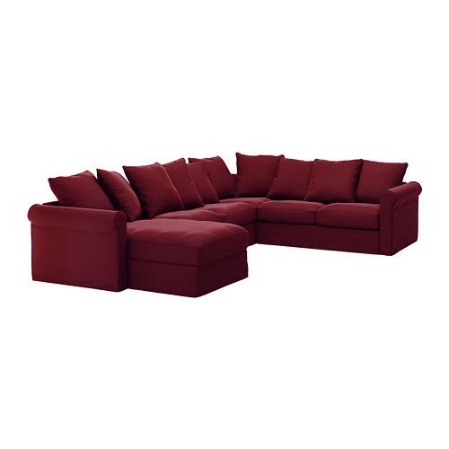 GRÖNLID 5-viet stūra dīvāna pārvalks