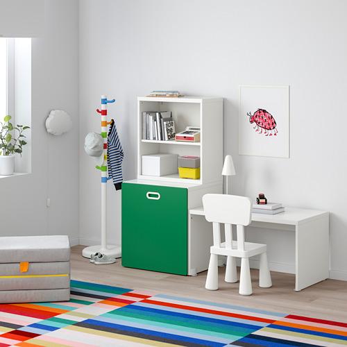 FRITIDS/STUVA stalas su vieta žaislams