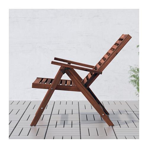 ÄPPLARÖ atlošiamoji lauko kėdė
