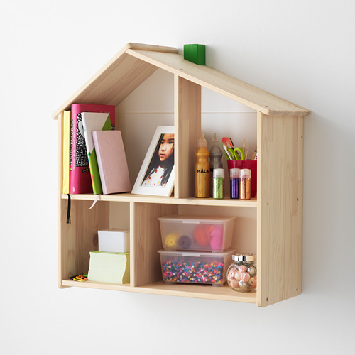 FLISAT lėlių namelis-sieninė lentyna