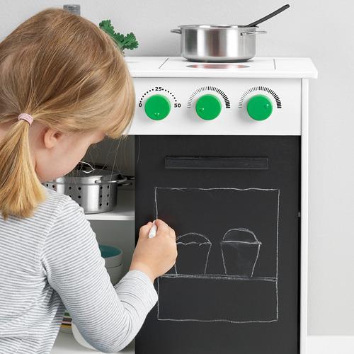 NYBAKAD žaislinė virtuvė su stum. durimis