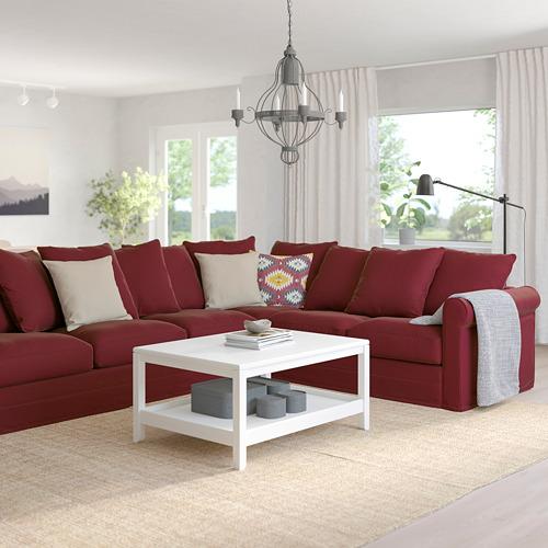 GRÖNLID piecvietīgs stūra dīvāns