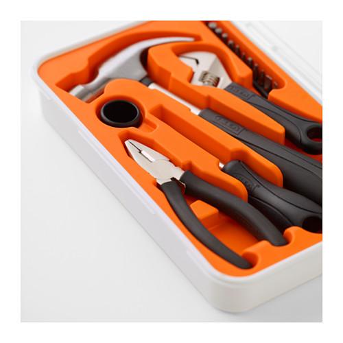 FIXA 17 dalių įrankių rinkinys