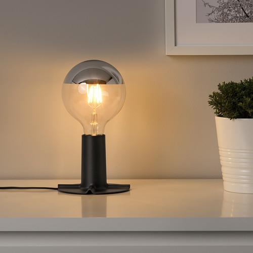 SKALLRAN/SILLBO galda lampas pamatne ar spuldzi