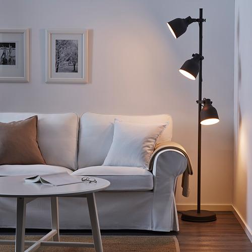 HEKTAR светильник напольный с 3 лампами