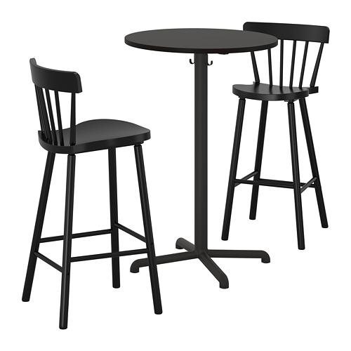 STENSELE/NORRARYD bāra galds un 2 krēsli