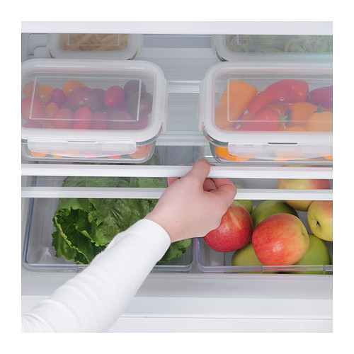 HUTTRA integrated fridge w freezer compart