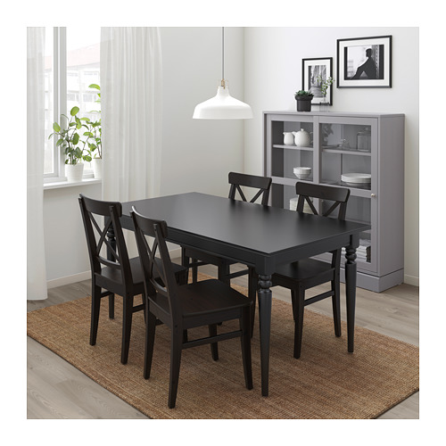 INGATORP/INGOLF galds un 4 krēsli