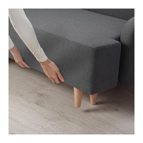 BASTUBO trivietė sofa-lova