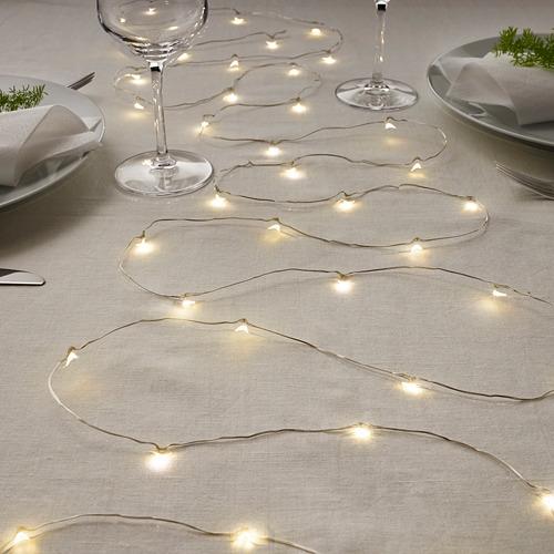 VISSVASS 80 LED lempučių girlianda