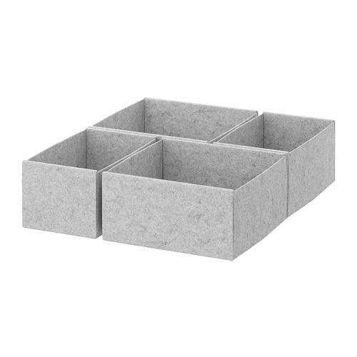 KOMPLEMENT dėžutės, 4 vnt.