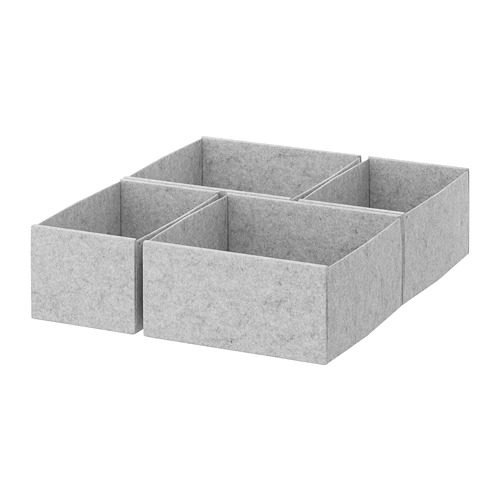 KOMPLEMENT box, set of 4