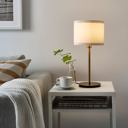 SKAFTET/RINGSTA table lamp