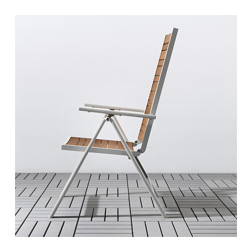 SJÄLLAND lauko stalas+6 atlošiamosios kėdės