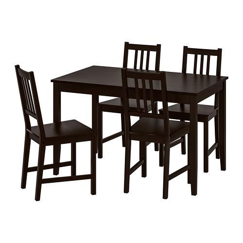 STEFAN/LERHAMN galds un 4 krēsli