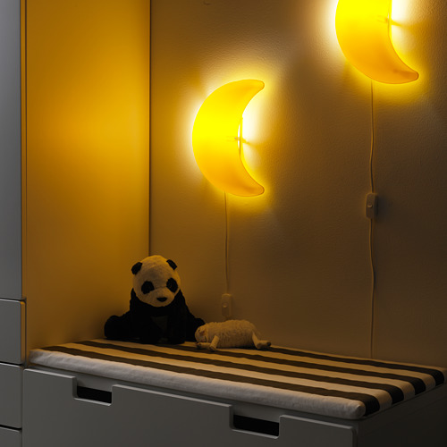 SMILA MÅNE wall lamp