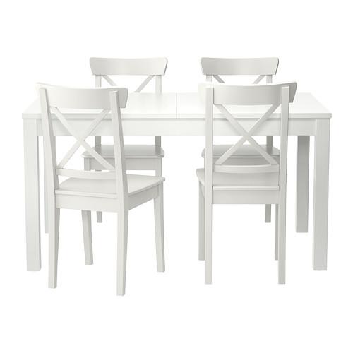 BJURSTA/INGOLF stalas ir 4 kėdės
