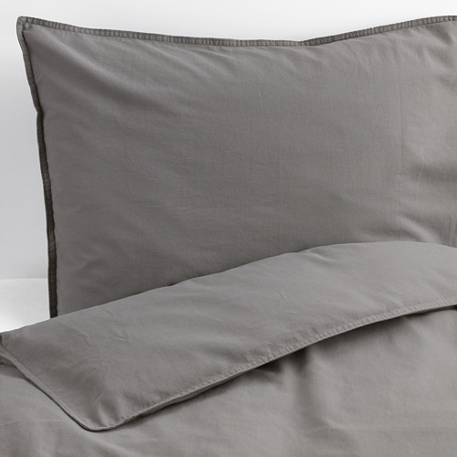 ÄNGSLILJA quilt cover and 2 pillowcases