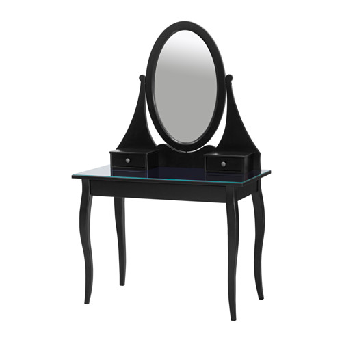 HEMNES tualetinis staliukas su veidrodžiu